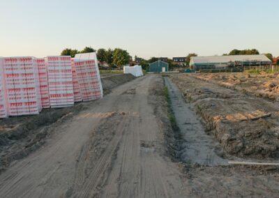 bouwgrond in progressie